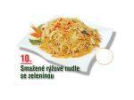 Smažné rýžové nudle se zeleninou