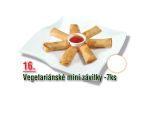 Vegetariánské mini závitky