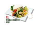 Michaná zelenina s rýží