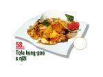 Tofu kung-pao s rýží