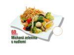 Míchaná zelenina s nudlemi