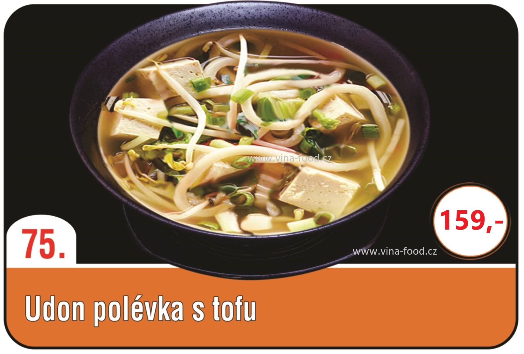 Udon Polévka s tofu