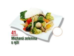 Míchaná zelenina s rýží